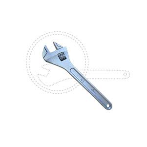 Ключ гаечный разводной КР-43 А-375 ГОСТ Р54488-2011