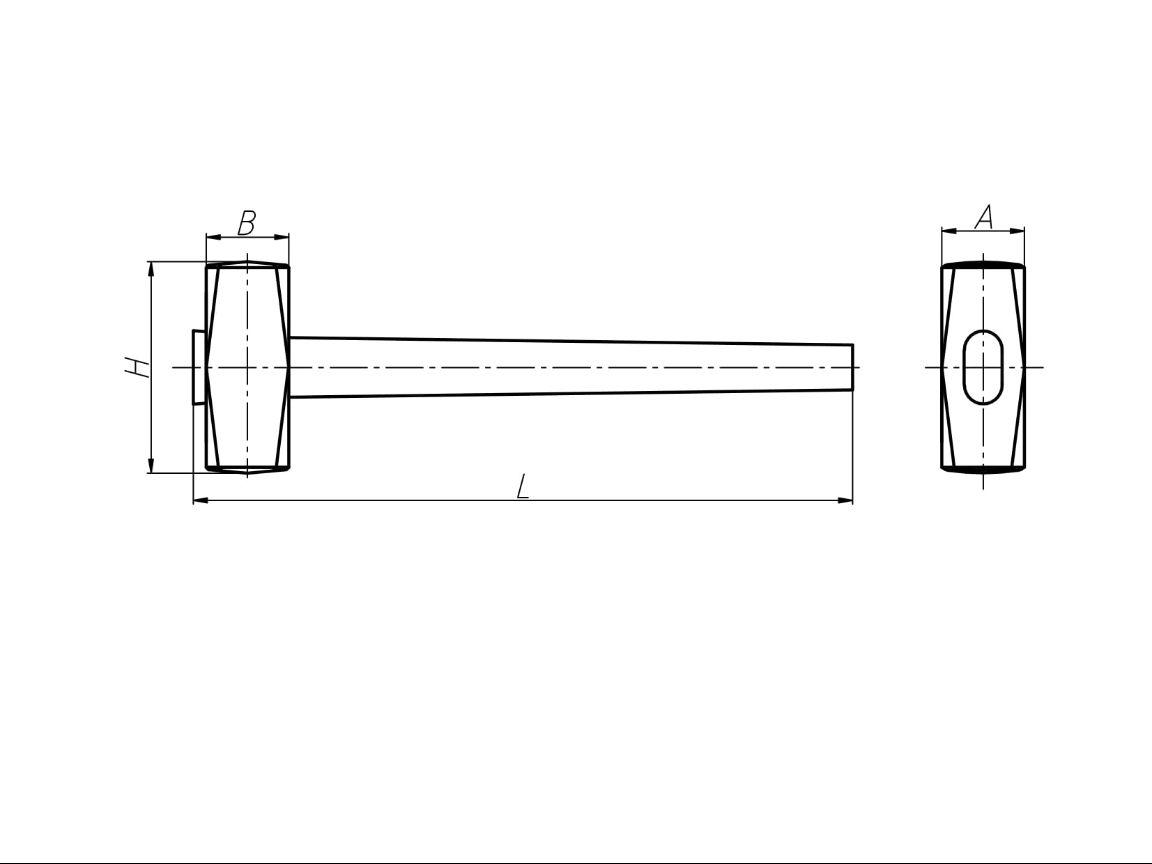 Кувалды тупоносые с деревянной ручкой слесарные стальные искробезопасные