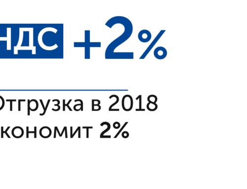 Повышение с 1.01.19 ставки НДС.