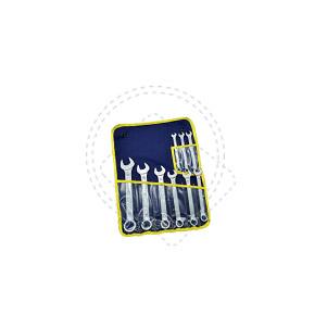 Наборы ключей гаечных с открытым и кольцевым зевами комбинированных КГК